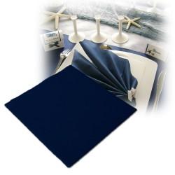 Serviettes intissées bleu marine