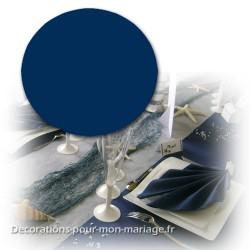 Nappe ronde 240 cm bleu marine