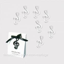 12 notes noires de musique