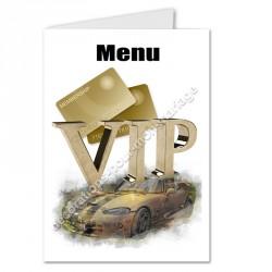 Menu thème VIP or