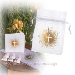 6 sachets dragées communion