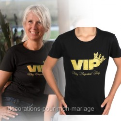 T-shirt femme VIP  Taille M
