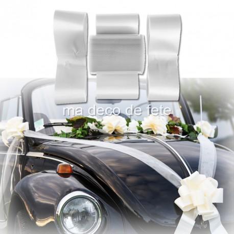 Kit deco voiture blanc