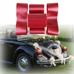 Kit deco voiture rouge