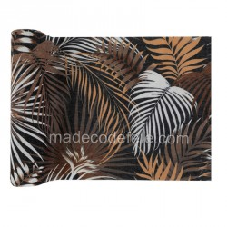 Chemin de table jungle tropical chic