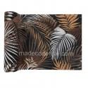 Chemin de table jungle tropical chic