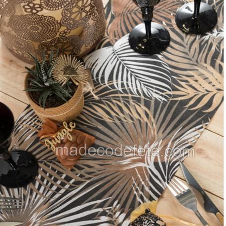 Décorations jungle tropical chic dans Nouveautés décos chemin-de-table-jungle-tropical-chic