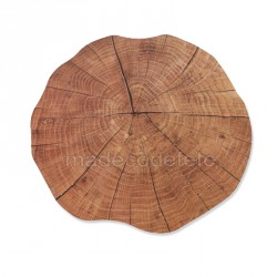 Set de table tronc d'arbre