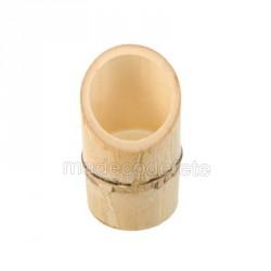 Tube bambou biseau