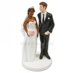 Figurine mariés mixte fnhb