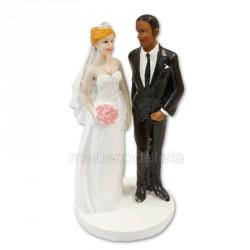 Figurine mariés mixte fbhn
