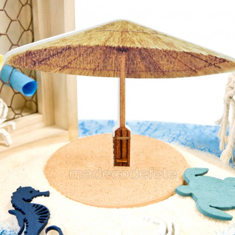 décoration parasol de table