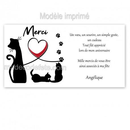 Remerciement chats noirs