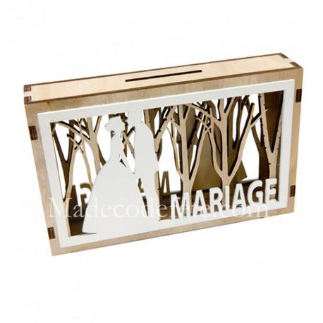 Boite à voeux mariage