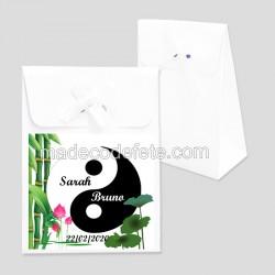 Boite à dragées zen yin yang