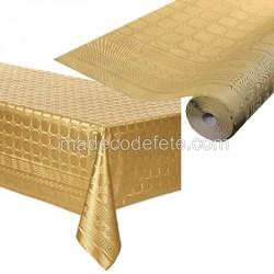 Nappe papier 25 m or