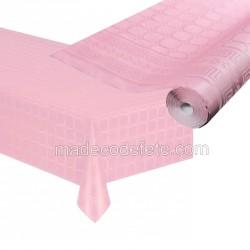 Nappe papier 25 m rose