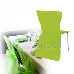 Lot de 30 housses de chaise vert anis