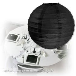 Boule japonaise noire 50 cm