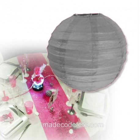 Boule japonaise grise 50 cm