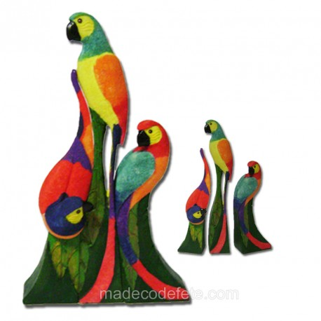 Perroquets trio