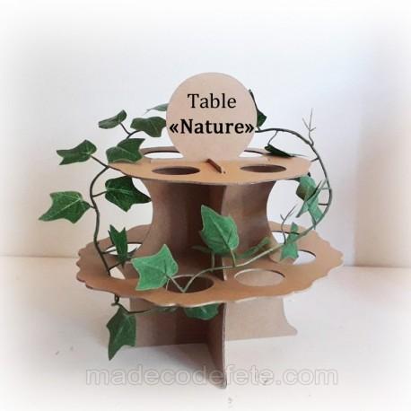 Centre déco table nature