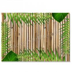 Set de table zen bambou