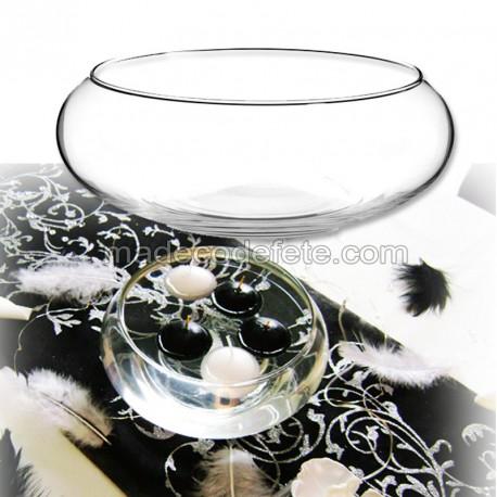 Centre table coupe verre 24 cm