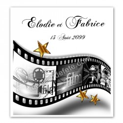 Faire-part mariage star cinéma