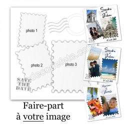 "Faire-part ""mes photos"""