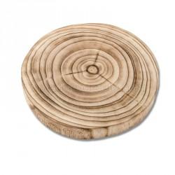 Rondin de bois déco 23 cm