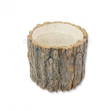 Support bois d'écorce