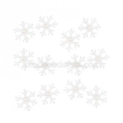 Flocons de neige blanc (lot de 12)