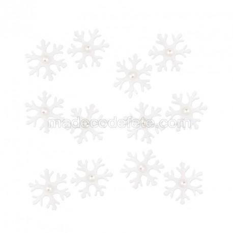 Flocons de neige blanc (lot de 12)