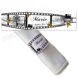 Rond serviette cinéma