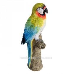 Perroquet résine
