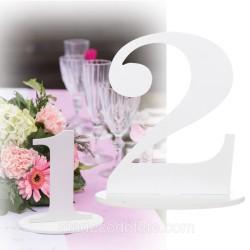 Marque-table 17 cm chiffre 2