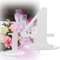 Marque-table 17 cm chiffre 4