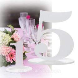Marque-table 17 cm chiffre 5