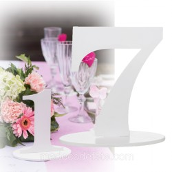 Marque-table 17 cm chiffre 7