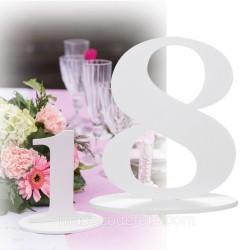 Marque-table 17 cm chiffre 8