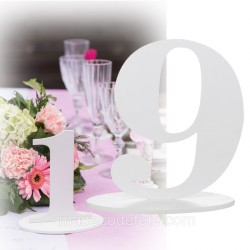 Marque-table 17 cm chiffre 9