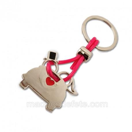 Porte-clés vive les mariés