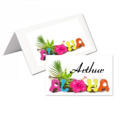 24 porte-noms aloha