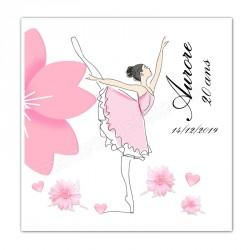 Faire-part danse ballerine
