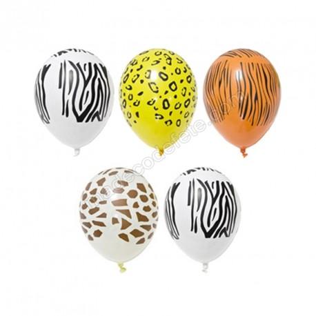 Ballons safari x5