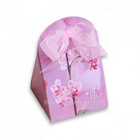 Ballotin dragées orchidées x 77