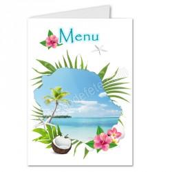 menu exotique carte réunion