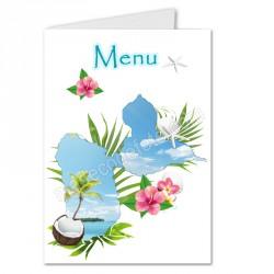 menu exotique carte Guadeloupe