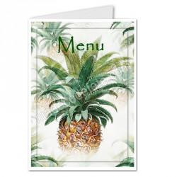 Menu ananas tropical